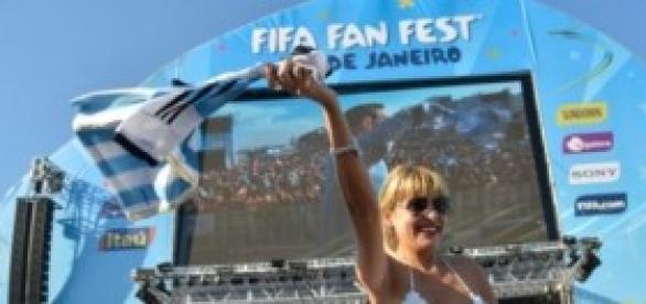 Los Argentinos festejan en Brasil