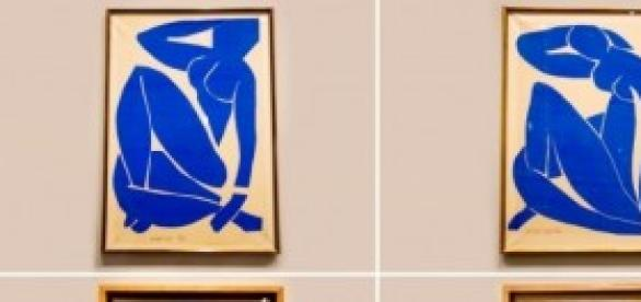 Matisse's four Blue Nudes, 1952