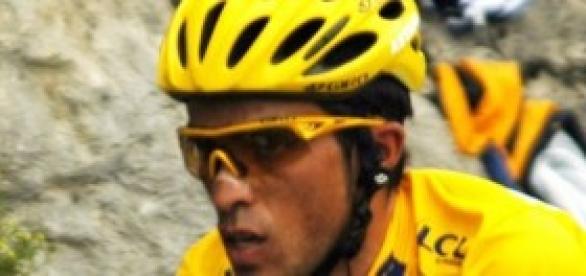 Alberto Contador se despide del Tour de Francia