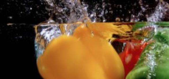 Agua y pimientos, tus aliados del verano