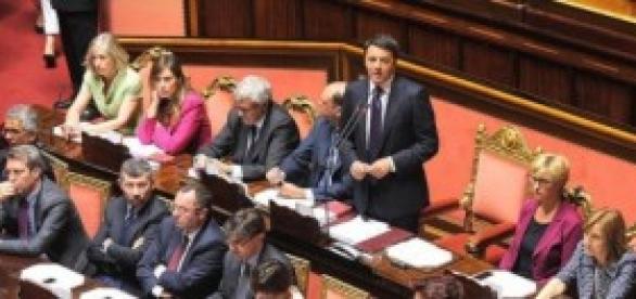 Riforme, il Governo Renzi al Senato