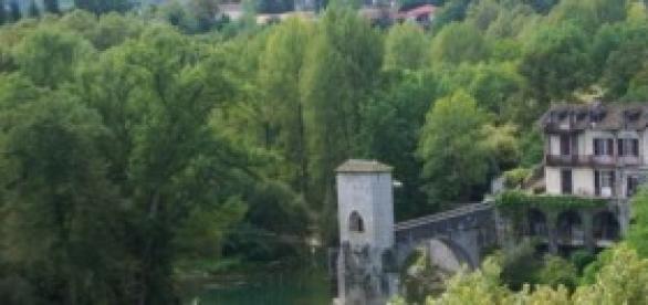 Sauveterre-de-Béarn, Le Pont Fortifié
