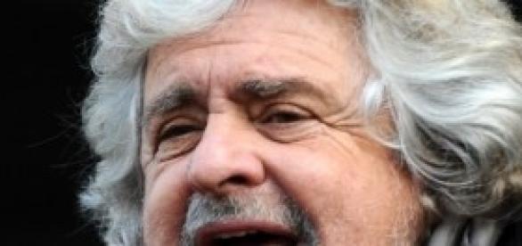 Beppe Grillo leader Movimento Cinque Stelle