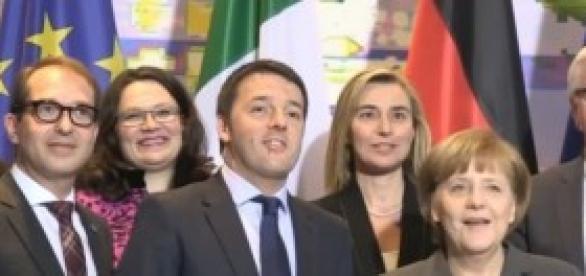 Inizia il semestre  italiano: Matteo Renzi