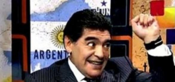 Diego Maradona en la Televisión Venezolana