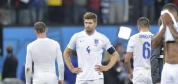 Gerrard suite à l'élimination de l'Angleterre