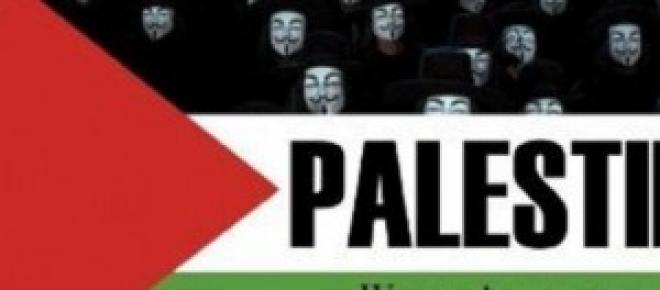 Anonymous Message supporting Palestine