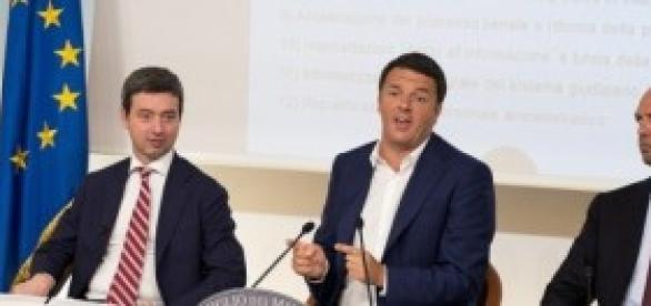 Riforma giustizia 2014: Renzi, Orlando, Alfano