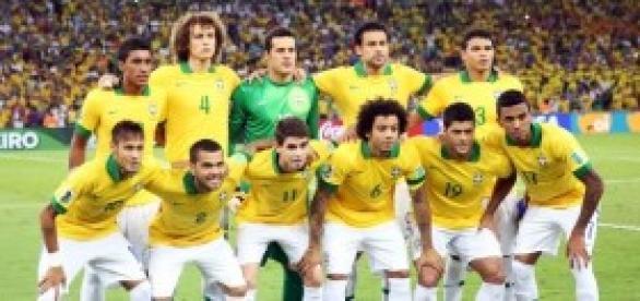 La seleccion brasilena, al psicólogo
