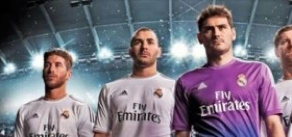 5 de los grandes jugadores del Real Madrid.