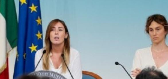 Riforme Governo Renzi, ministri Boschi e Madia