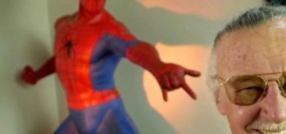 Stan Lee, criador do Homem Aranha