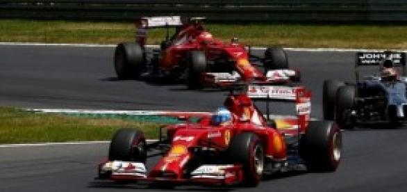 Alonso en el último Gran Premio de Austria