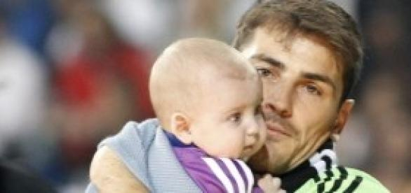 Iker y Martín Casillas. Foto: Huffington Post