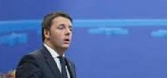 Il leader del governo Matteo Renzi