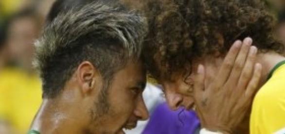 Neymar y David Luiz. Foto: CNN