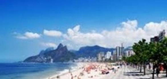 Playa de Ipanema en Río de Janeiro