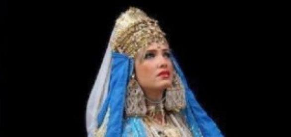 la tenue de la mariée tlemcenienne