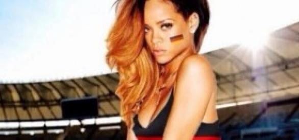 Rihanna, fan número 1 de la selección portuguesa.