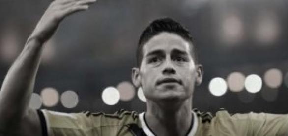 James durante un encuentro del pasado Mundial
