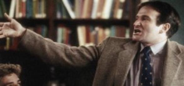 """Williams în """"Dead Poets Society"""""""
