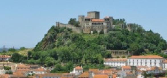 Castelo de Leiria, dominando o centro histórico