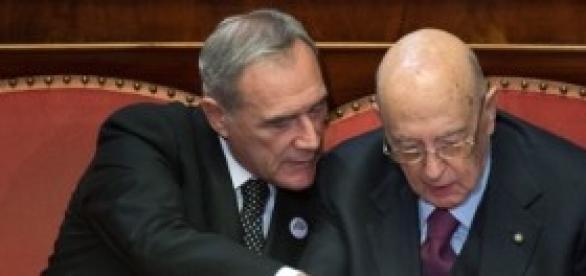 Grasso e Napolitano per amnistia e indulto 2014