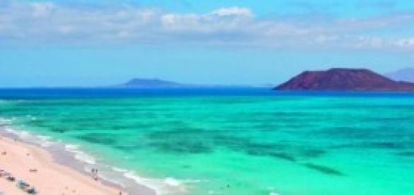 Playa de Fuerteventura, Islas Canarias