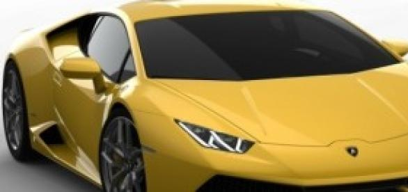 Lamborghini Huracàn, photo officielle.
