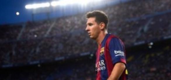 Leo Messi, autor de dos goles