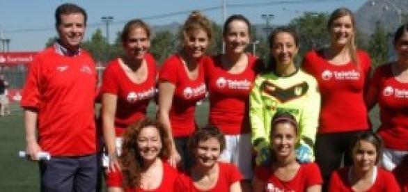 Equipo femenino en Chile.