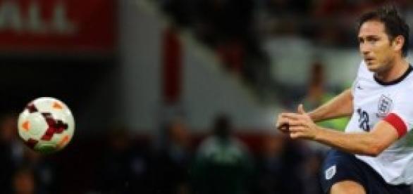 Lampard ha jugado 106 partidos con Inglaterra.