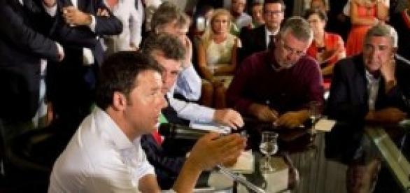 Renzi: riforma Pa e pensioni, scuola e giustizia