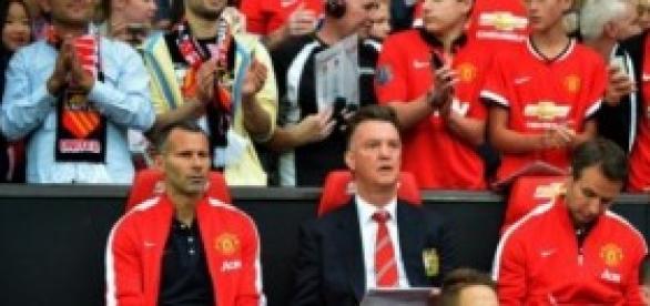 Van Gaal, técnico del Manchester United