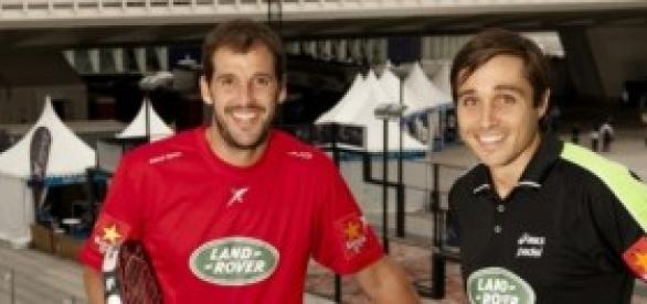 Juan Martín Díaz y Fernando Belasteguin.