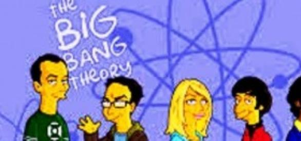 The Big Bang Theory nos Simpsons