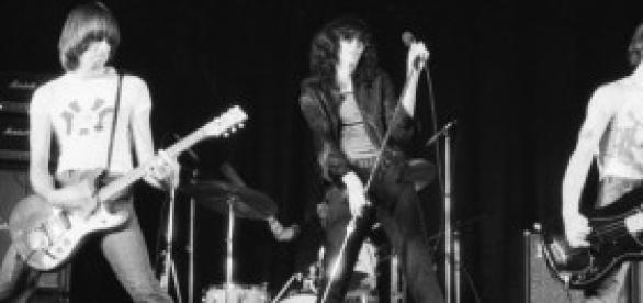 Ramones en concierto en el año 1976.