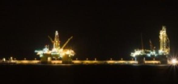 Torres petroleras en el Puerto de Las Palmas