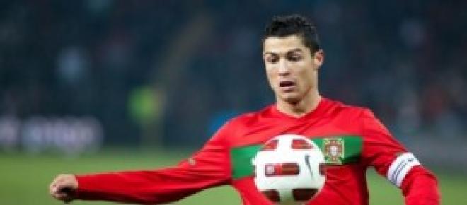 Cristiano Ronaldo, con su selección