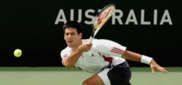 El Nº1 de la ATP jugando un torneo pasado.