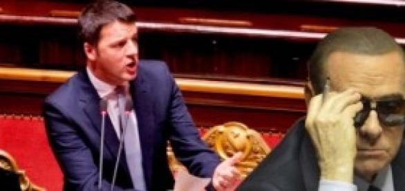 Riforme al senato, nuovo incontro Renzi-Berlusconi