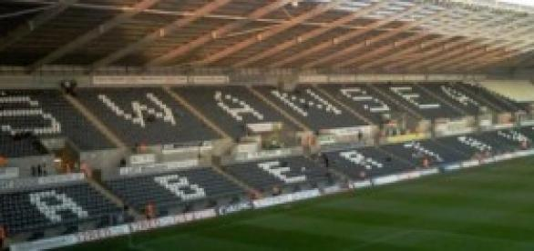 Swansea host West Brom in their first home game