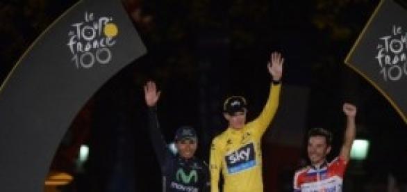 Los tres grandes de la Vuelta