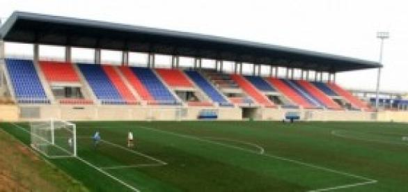 Campo de fútbol inglés de segunda división