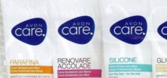 Productos cosméticos AVON: cremas