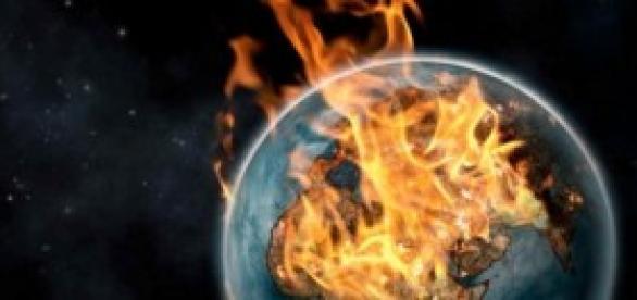 El planeta arde por culpa del calentamiento