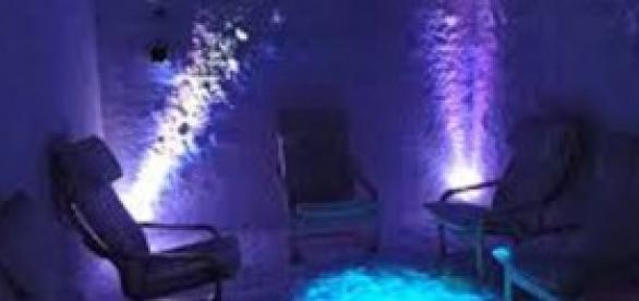 Sala de haloterapia acondicionada