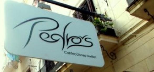 Tienda donde se comercializan las piezas de Pedro