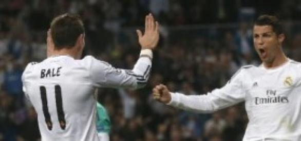 Bale y Cristiano. Foto: xinhuanet.com