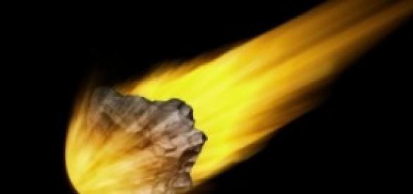 Bólido: asteroide entrando a alta velocidad